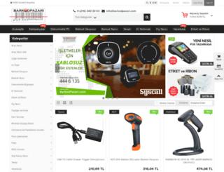 barkodpazari.com screenshot