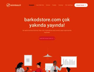 barkodstore.com screenshot