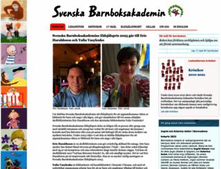barnboksakademin.com screenshot
