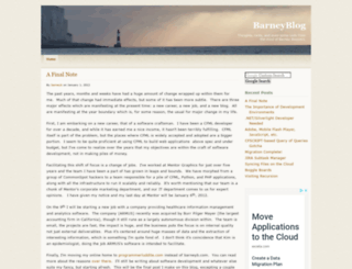 barneyb.com screenshot