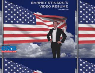 barneysvideoresume.com screenshot