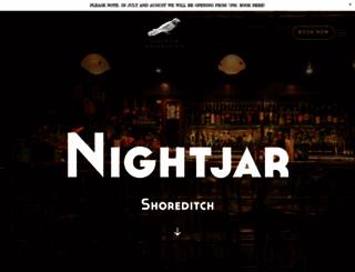 barnightjar.com screenshot