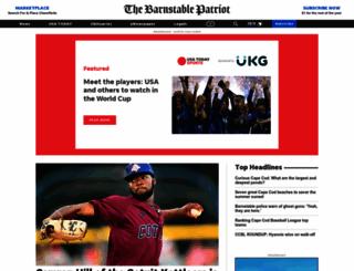 barnstablepatriot.com screenshot