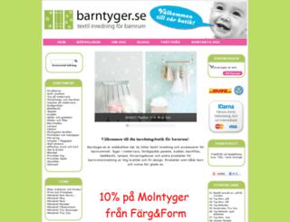 barntyger.se screenshot
