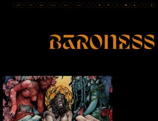 baronessmusic.com screenshot