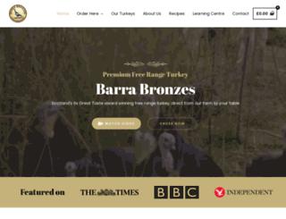 barrabronzes.co.uk screenshot