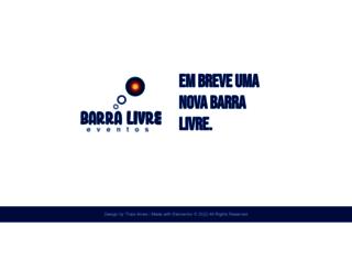 barralivre.com.br screenshot