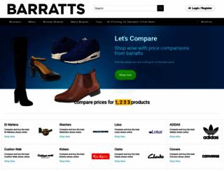 barratts.co.uk screenshot