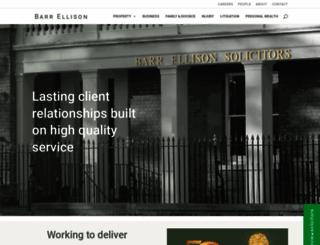 barrellison.com screenshot
