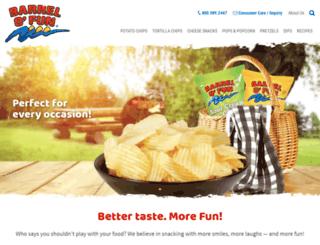 barrelofunsnacks.com screenshot