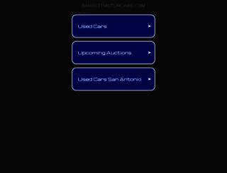 barrettmotorcars.com screenshot