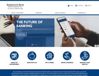 barringtonbank.com screenshot