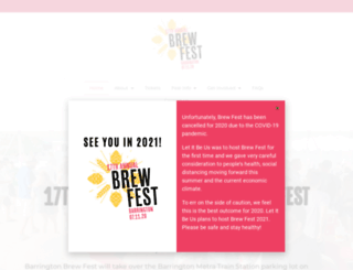 barringtonbrewfest.com screenshot
