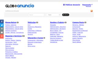 barriooncedeagosto.anunico.com.ve screenshot