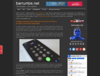 barruntos.net screenshot