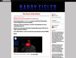 barryeisler.blogspot.com screenshot