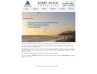 barrymckay.com screenshot