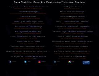 barryrudolph.com screenshot