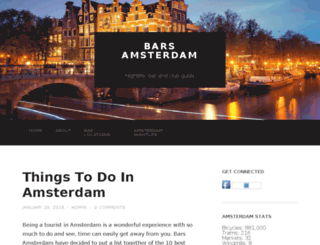 barsamsterdam.com screenshot