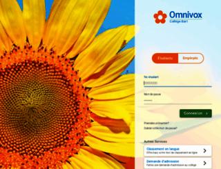 bart.omnivox.ca screenshot