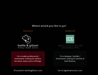 bartlegibson.com screenshot