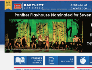 bartlettschools.org screenshot
