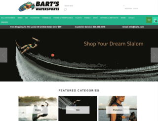 bartswatersports.com screenshot