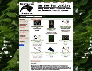 baryonyxknife.com screenshot