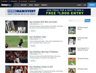 baseballguys.com screenshot
