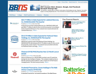 baseballnewssource.com screenshot