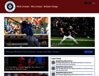 baseballpress.com screenshot