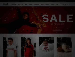 basefashion.co.uk screenshot