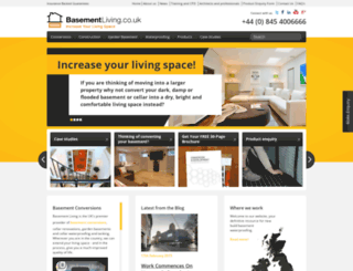 basement-living.co.uk screenshot