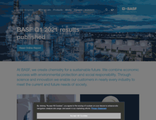basf.co.uk screenshot