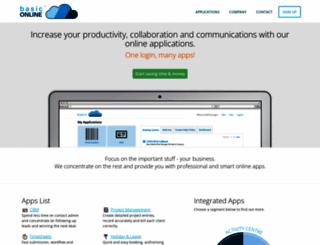 basiconline.net screenshot