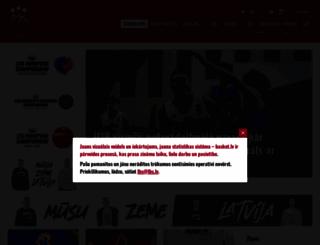basket.lv screenshot