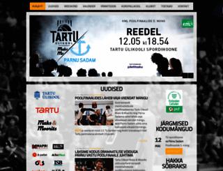 basket.ut.ee screenshot