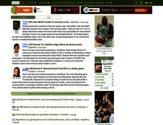 basketball.latinbasket.com screenshot