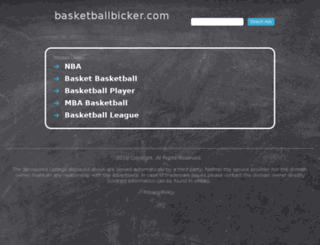 basketballbicker.com screenshot