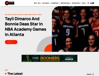 basketballvictoria.com.au screenshot