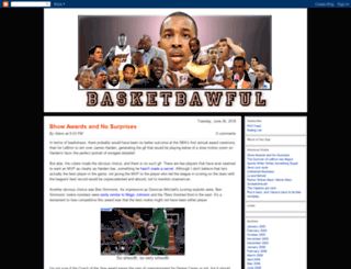 basketbawful.blogspot.com screenshot