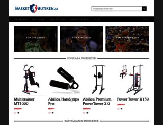 basketbutiken.se screenshot