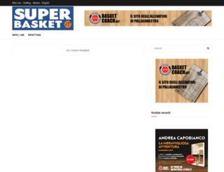 basketnet.it screenshot