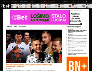 basketnews.lt screenshot