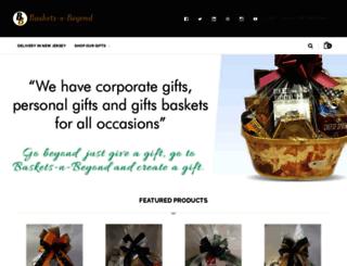 baskets-n-beyond.com screenshot