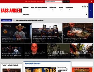 bassanglermag.com screenshot