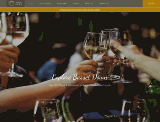 bassetdowngolfcourse.com screenshot