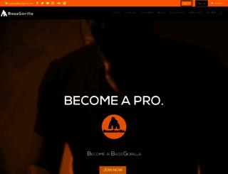 bassgorilla.com screenshot