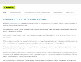 bassprov.com screenshot