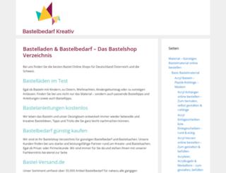 bastel-versand.de screenshot